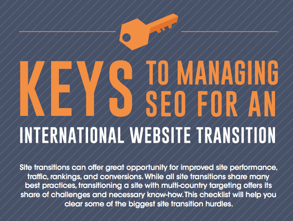 Keys to Managing SEO for an International Site Transition 1